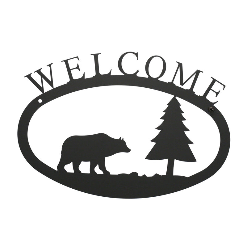 Bear Welcome Sign