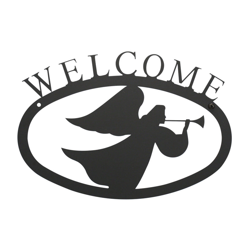 Angel Welcome Sign