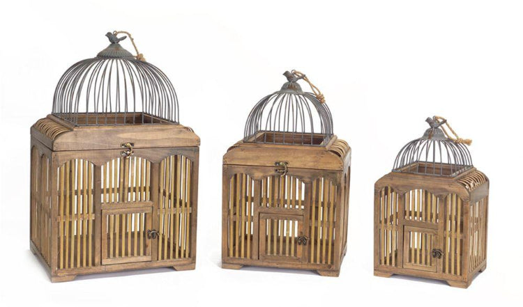 Decorative Bird Cages Set