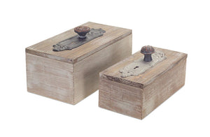 Wood Door Knob Boxes