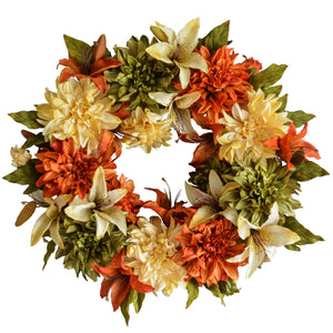 Summer and Fall Outdoor Wreaths