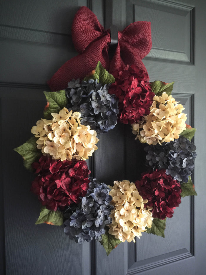 Americana Patriotic Front Door Wreath