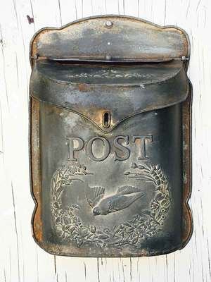 decorative mailbox post box