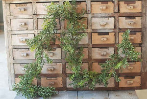 boxwood garland greenery