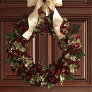 Holiday Christmas Door Wreath