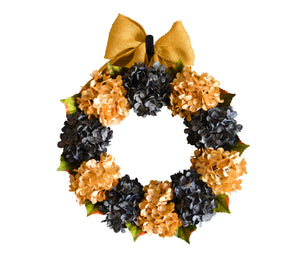 yellow door wreath