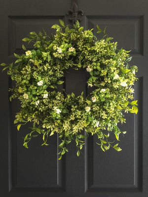 boxwood wreath for door