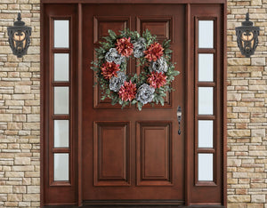 year round front door wreath