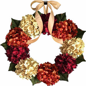 fall front door wreaths