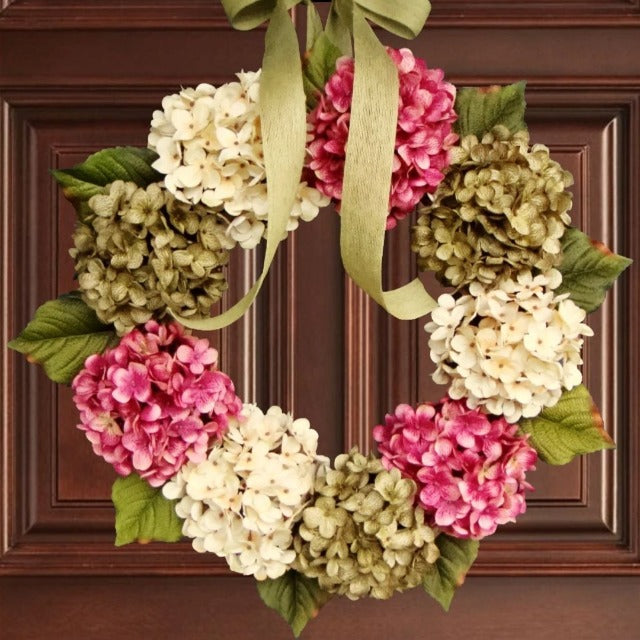 Bellaire Spring Wreath for Front Door