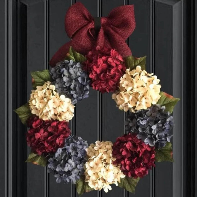 Americana Patriotic Door Wreath
