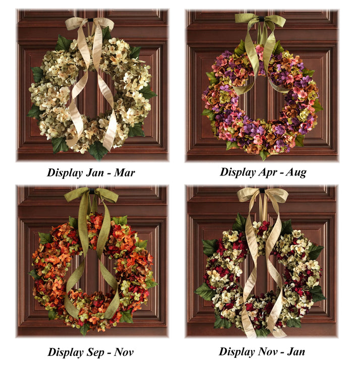 Door Wreaths for Every Season