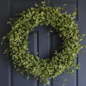 large boxwood wreaths