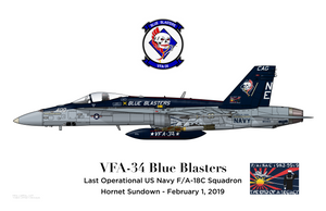 VFA-34 - Hornet Sundown