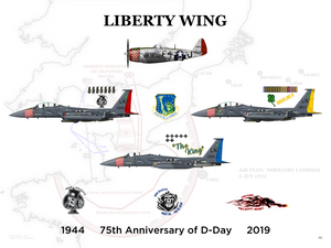 Liberty Wing - 75th Anniversary of D-Day