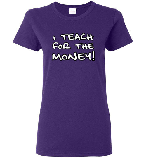 """I teach for the money!"" - Ladies Fit"