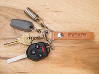Leather Keychain System