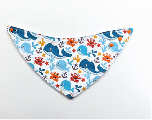 Happy Sea Creatures Bib