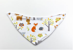 Forest Critters Bib or Burp Cloth