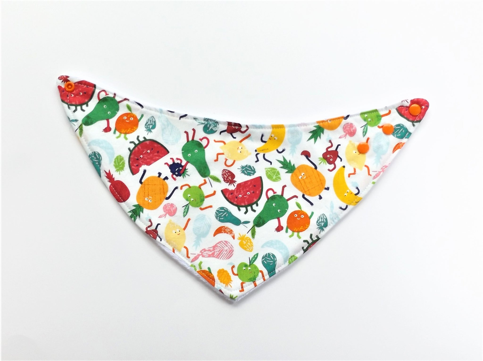 Happy Fruit Salad Bib