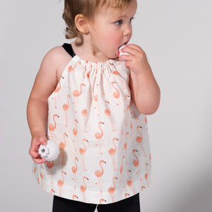 Flamingos Summer Breeze Top