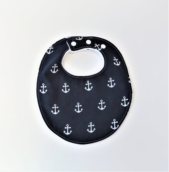 Anchors Away Bib in Navy