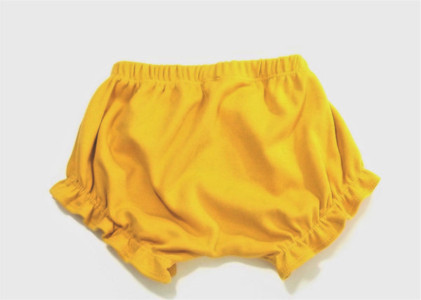 Golden Ruffle Shorty