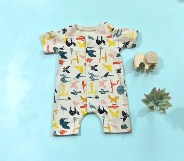 Geo Safari Romper