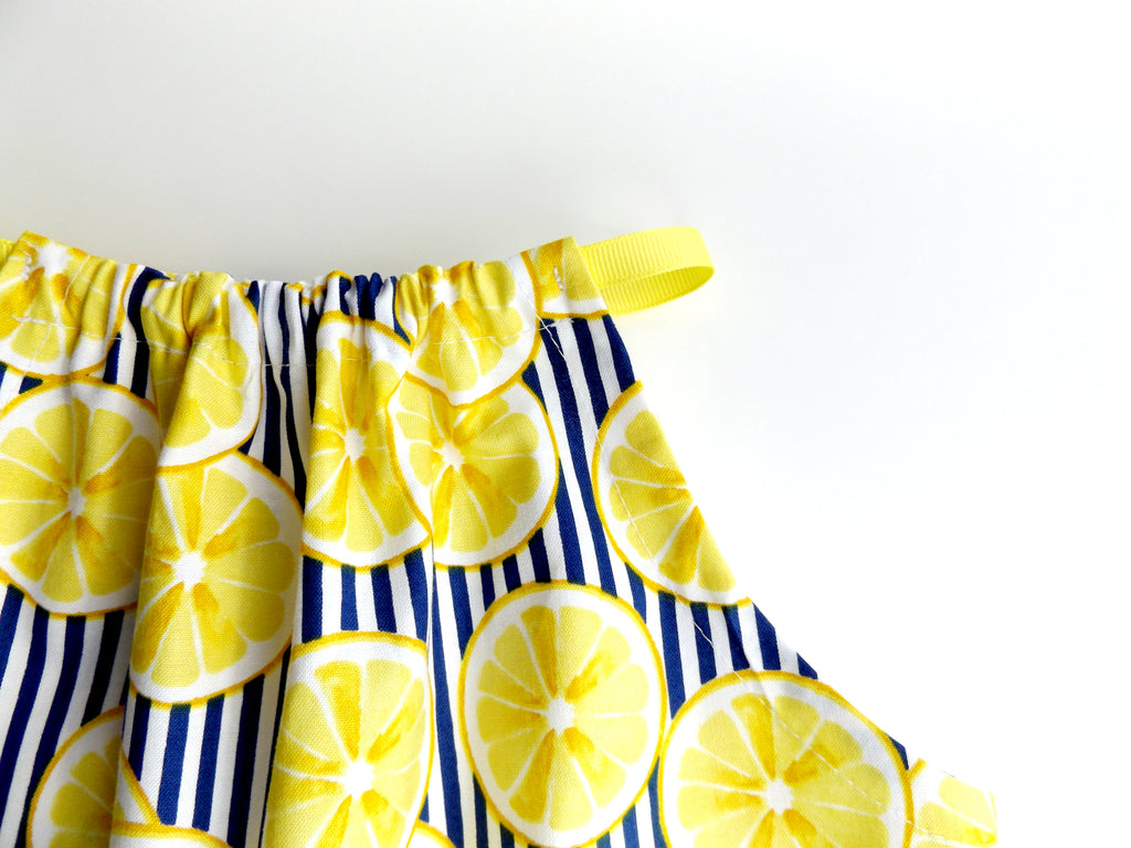 Stripes & Lemons Summer Breeze Top