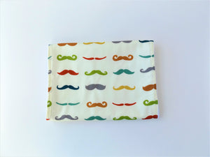 Mustache Bibs & Burp Cloth