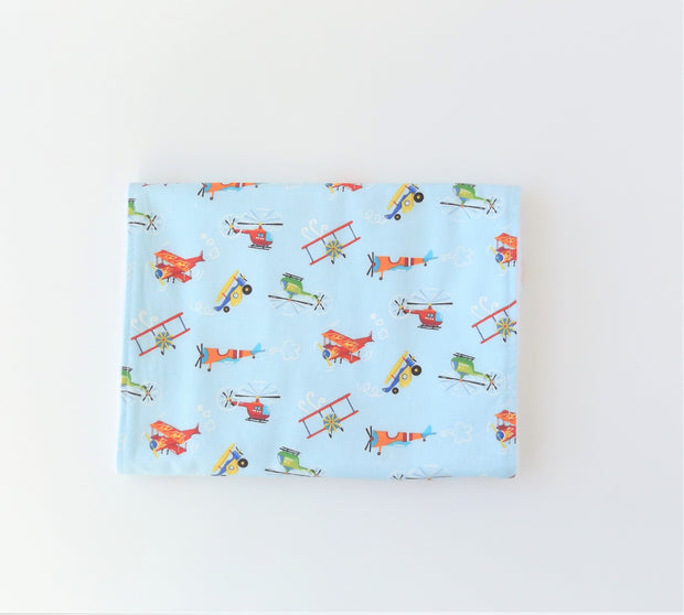 Let's Fly Bibs and Burp Cloth 1
