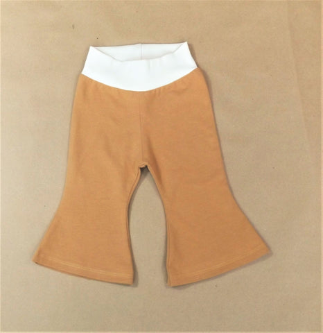 Mini Me Tan Bell Bottoms