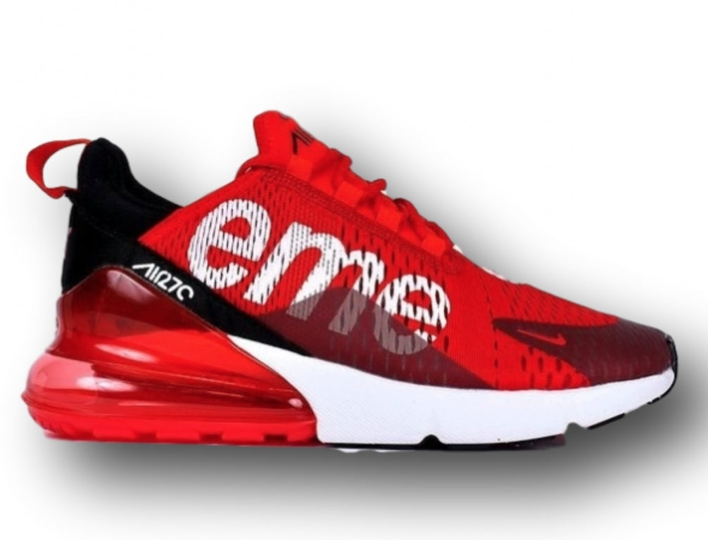 check out 6865c 59260 Nike Air Max 270 Supreme Flyknit Red