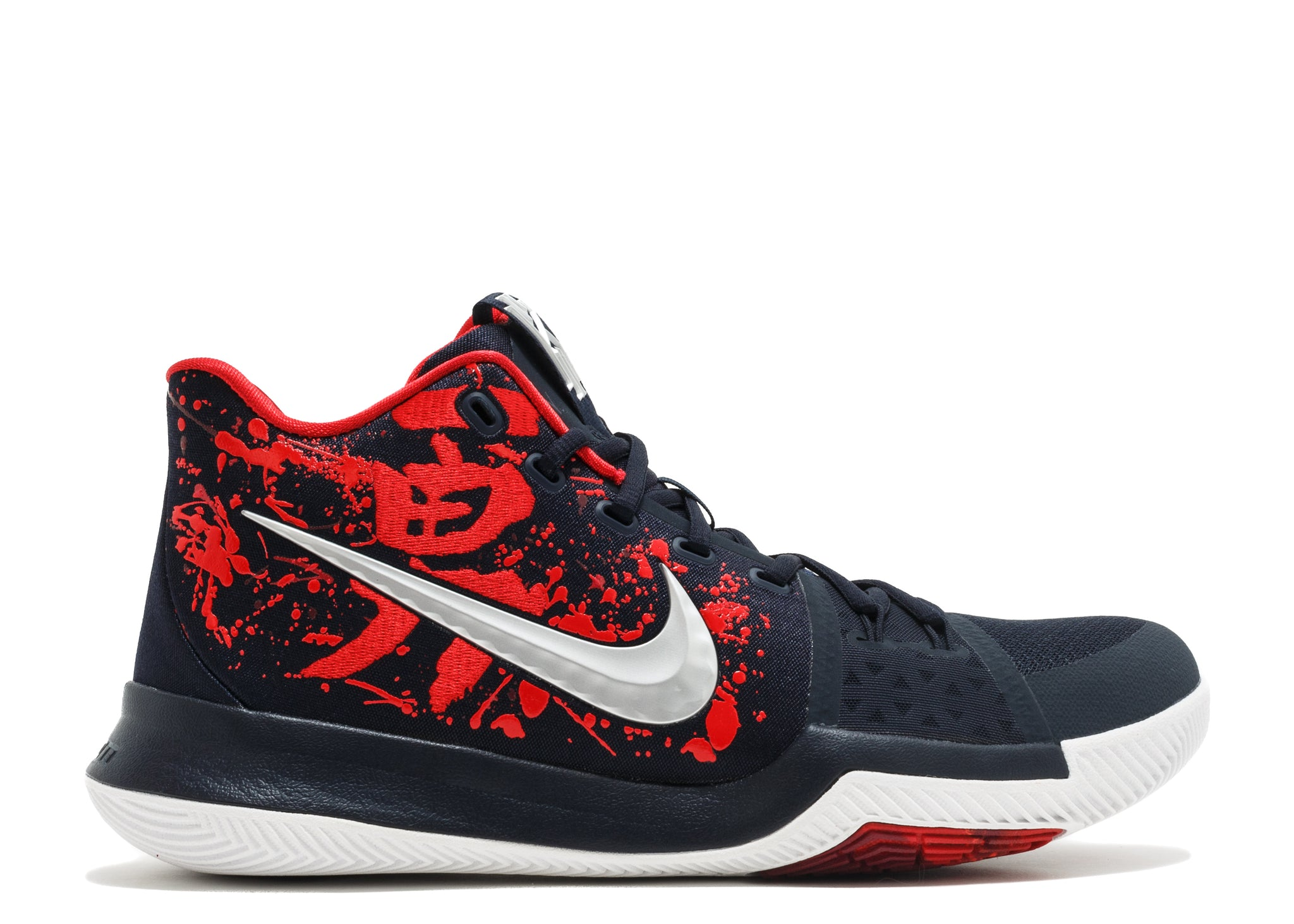 best website 755d6 3436f NIKE KYRIE 3 SAMURAI CHRISTMAS MYSTERY