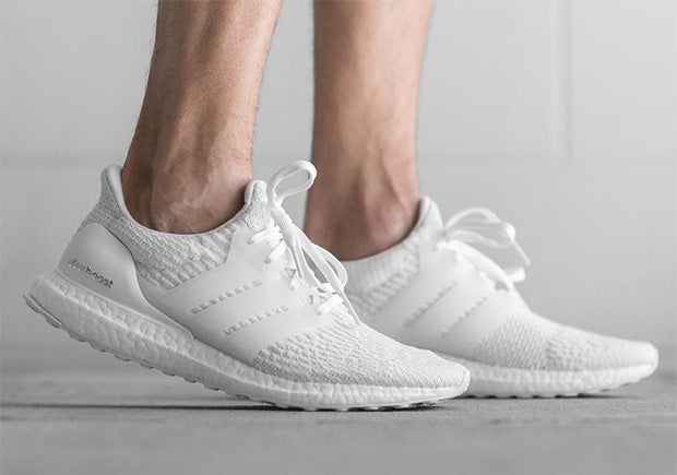 515aee3c4 new style adidas ultra boost in all white 66897 84b04