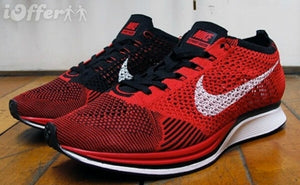 Flyknit Racer Red Black
