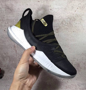 "Under Armour Curry 5 ""Championship Pack"" Black/Gold For Sale"