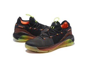 Under Armour Curry 6 Fox Theater Black Grey Orange