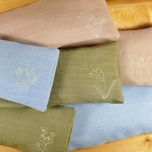 Embroidered Lavender Scented Eye Pillows Tutorial