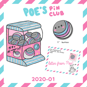 New pin club rewards for the new year!