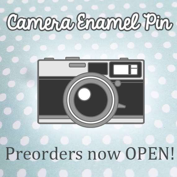 Kickstarter for Camera Enamel Pins