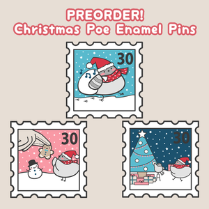 Holiday Poe pins up for preorder!