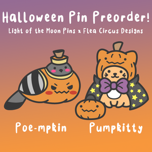 Two Spooky New Pins Now on Kickstarter!