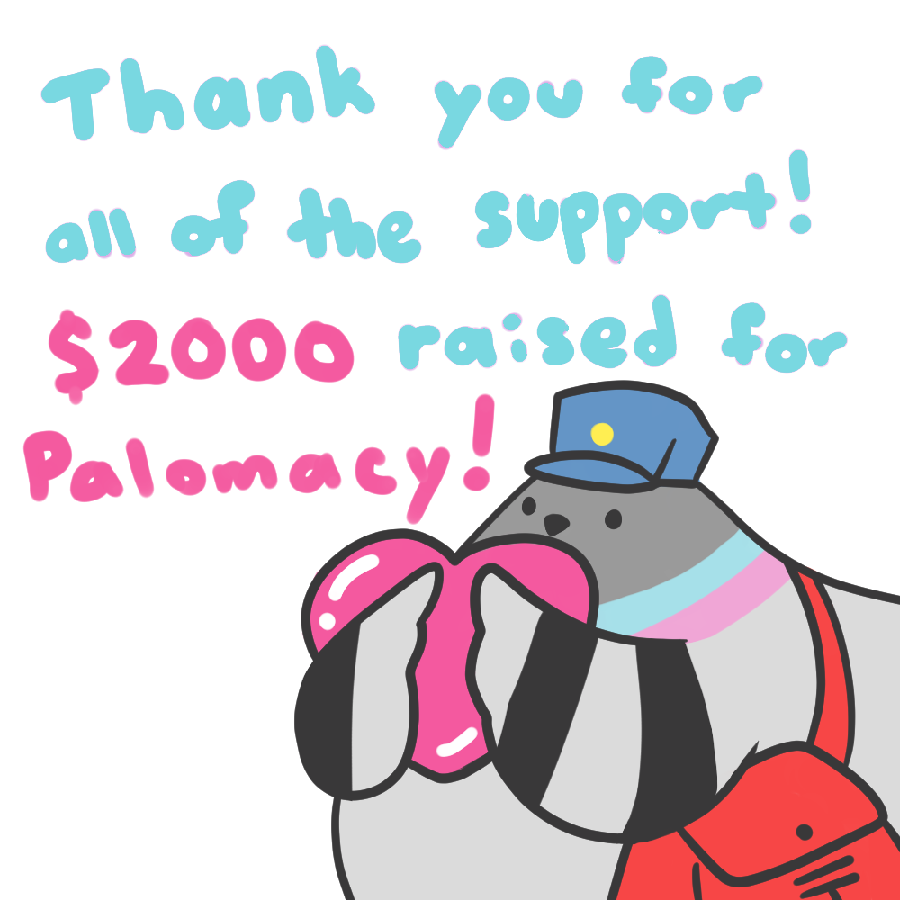 $2000 raised for Palomacy!!
