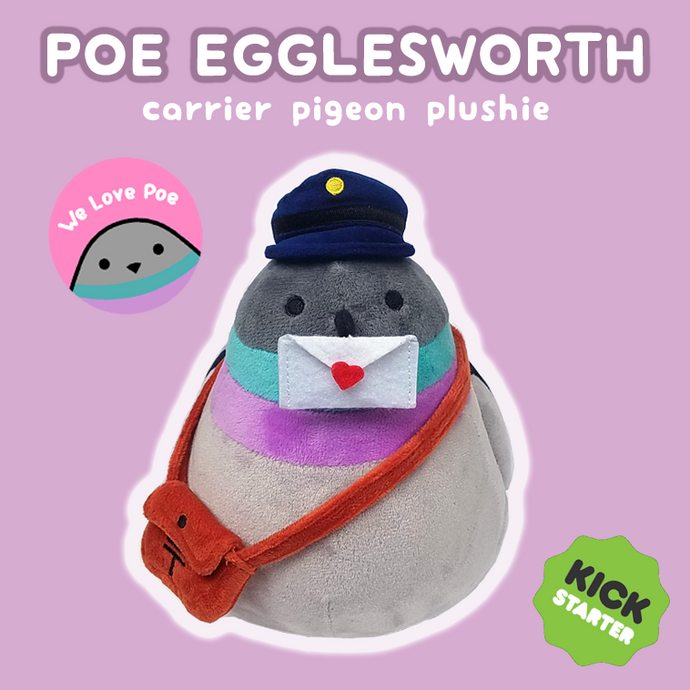 Poe the Postmaster Pigeon Now On Kickstarter!!