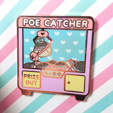 Poe Catcher Pin - Flea Circus Designs