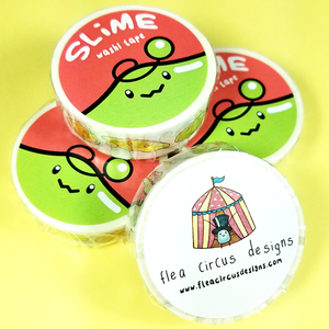Slime Washi Tape - Flea Circus Designs