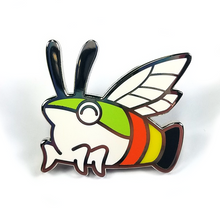 Pellucid Hawk Moth Pin - Flea Circus Designs