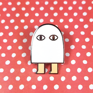 Medjed Pin - Flea Circus Designs