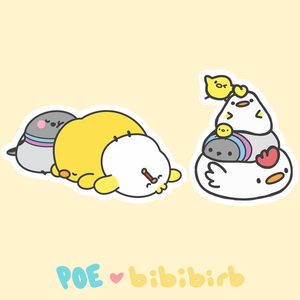 PRE-ORDER Poe x Bibibirb Collaboration Pins